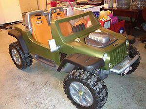Power Wheels Fisher Price Monster Traction Jeep Hurricane