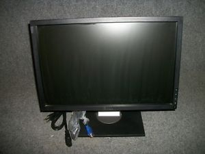 "Dell 1909WB 19"" LCD Widescreen Flat Panel Computer Display Screen Monitor Tested"