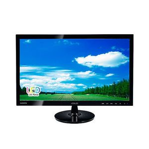 "24"" LED 2ms Asus vs VS247H P Widescreen LCD Monitor Display HDMI DVI VGA"
