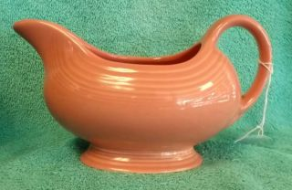 Homer Laughlin China Fiesta Contemporary Rose Open Sauce Boat