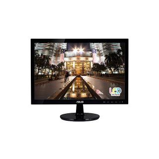 "New Asus VS197D P 19"" 18 5inch Widescreen 5ms 50000000 1 LED LCD Monitor Black 610839379095"