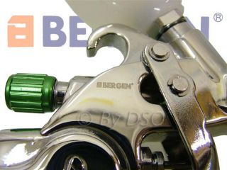 Bergen Trade Qual Mini Low Pressure HVLP Spray Gun New