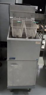 Commercial Deep Fryer Pitco 35lb Nat Gas