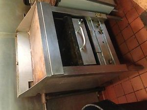 "Pro Kitchen Double Gas Grill Commercial Restaurant Equipment 31""x20"" Griddle"