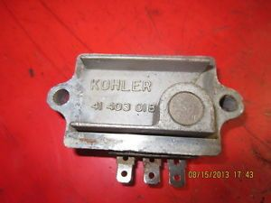 John Deere Kohler Engine Voltage Regulator 10 20HP AM106357 $82 57 from JD