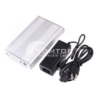 "Portable 3 5"" 2 5"" inch USB SATA IDE HDD Hard Drive Disk External Enclosure Case"