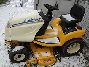 "Cub Cadet 3165 Riding Lawn Mower Tractor 48"" Direct Drive Mowing Deck Updated"