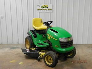 "John Deere L130 48"" Riding Mower Lawn Tractor 23hp"