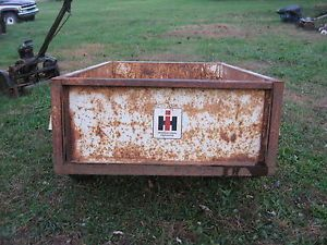 IH IHC International Cub Cadet Garden Tractor Lawn Mower Cart Trailer Origional