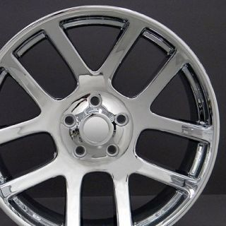 "22"" Rim Fits Dodge SRT Wheels Chrome 22x10 Set"