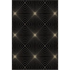 Orian Nuance Twilight Black Area Rug Living Room Dining Room Kitchen