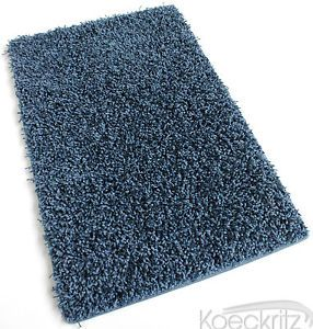 Denim Shaggy Indoor Area Rug Carpet Many Sizes Living Dining Room Kitchen