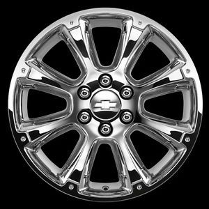 Silverado Sierra Tahoe Yukon 22 inch Chrome Wheels CK916 Wheel Package GM New