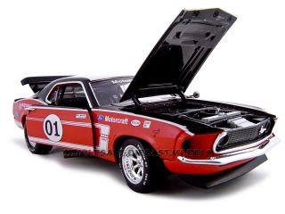 1969 Ford Mustang Boss 302 1 Racer 1 24 Diecast Model