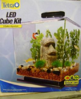 New Tetra 3 Gallon Desktop Aquarium Kit with LED Read