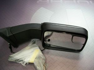 Mopar Dodge RAM 1500 Trailer Tow Mirrors 2009 2010 2011 2012