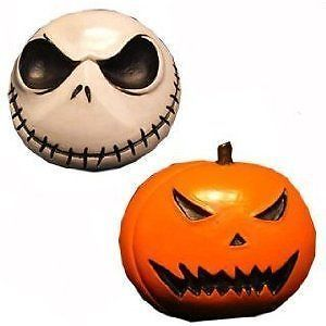 Nightmare Before Christmas Fridge Magnet Set of 2 Jack Pumpkin Halloween Decor
