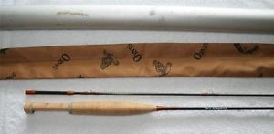 Vintage 7ft 9 in Orvis Graphite Fishing Fly Rod 1 1 2 oz for 2 Line with Case