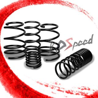 "1"" Drop Coil Suspension lowering Spring 10 13 MPV Compact 2U 4U 1 6L 2 0L Black"
