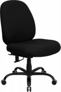 Big Man Office Chair Heavy Duty Weight Capacity 500lbs
