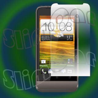 Clear Matte Anti Glare 3X 6X 9x LCD Screen Protector Film for HTC One V T320e