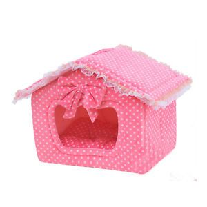 Gorgeous Pink Princess Pet House Dog Beds Cat Beds Pet Beds Best OFFER on
