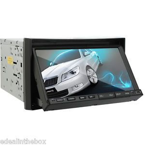 "Ouku in Dash 2 DIN 7""Touch Screen Car Stereo CD DVD Player Radio Hitachi CD Head"