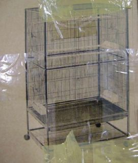 New Prevue Pet Products Wrought Iron Flight Cage with Stand Bird Cage F040 $275