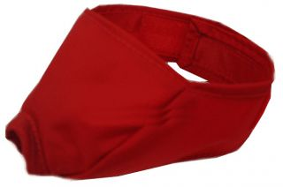 Nylon Muzzle for Cats Medium Red