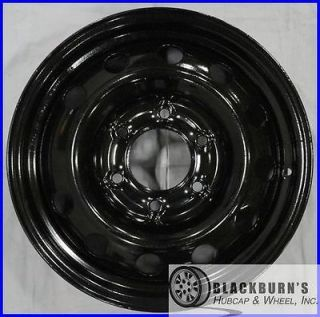 "06 07 08 09 10 11 12 Sedona Entourage 16"" Black Steel Wheel Rim 74583 168866"