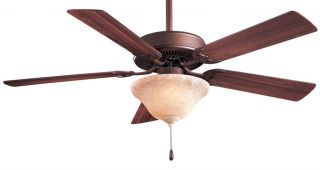 "Minka Aire F548 ORB EX Contractor 52"" Oil Rubbed Bronze Traditional Ceiling Fan"