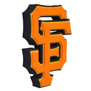 San Francisco Giants MLB Baseball Official 3D Foam Logo Wall Sign