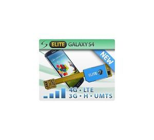 Magic Sim Elite Dual Sim Card Adapter for Samsung Galaxy S4 LTE 3G UMTS