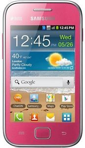 Samsung S6802 Galaxy Ace Duos Pink Dual Sim Card Unlocked GSM 3G 3GB Cell Phone