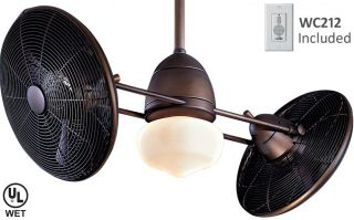 Minka Aire F402 ORB Gyro Contemporary Modern Bronze Outdoor Indoor Ceiling Fan
