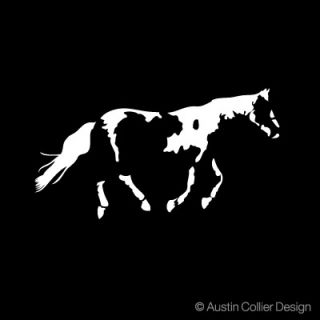 Paint Horse Vinyl Decal Car Window Sticker Equestrian