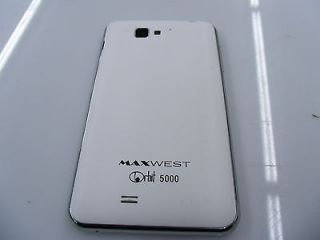 Maxwest Android Orbit 5000 Unlocked Quad Band GSM Dual Sim 3G Smartphone