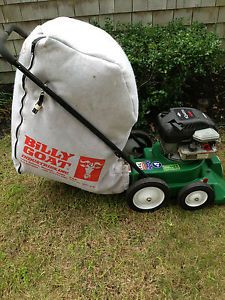 Lawn Vacuum Billy Goat Industries Model lb 40