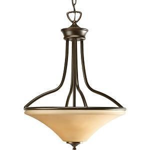 Progress Lighting Janos Collection Antique Bronze 3 Light Foyer Pendant