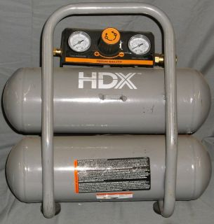 HDX 2 Gal Gallon Portable Electric Air Compressor 947 282