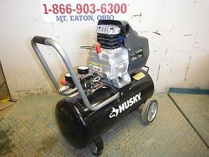 Used 2012 Husky TA 2530B Portable 8 Gallon Electric Air Compressor as Is