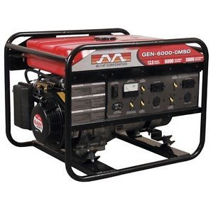 MI T M 6000 Watt 13 HP Honda Engine OHV Portable Gasoline Generator