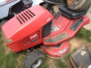 "Toro Wheel Horse 12 HP Briggs 38"" Deck Riding Mower Lawn Garden Tractor 12 38 XL"