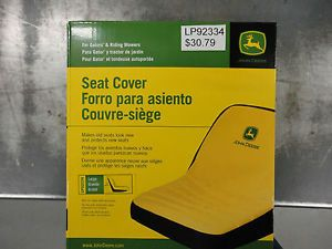 John Deere Gator Riding Lawn Mower Seat Cover Large LP92334