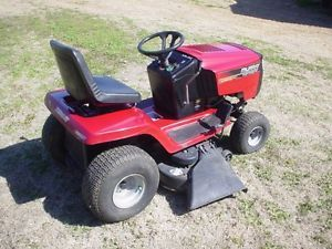 "Murray 46"" 17 5 HP Hydrostatic Drive Wide Body Riding Lawn Mower Garden Tractor"