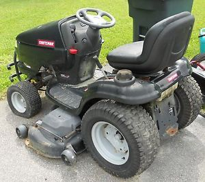 DGS 6500 DGS6500 26 HP Riding Lawnmower Lawn Mower 54 inch Deck 58 9 Hours
