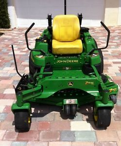 2009 John Deere Z830A Model Zero Turn Riding Lawn Mower 54 inch Deck