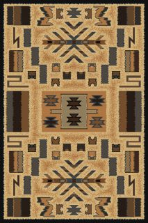 Manhattan Southwestern Contemporary Geometric Area Rug Grey United Weavers