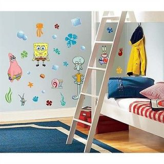 45 Spongebob Squarepants Patrick Kids Decorative Wall Decals Stickers Stick UPS