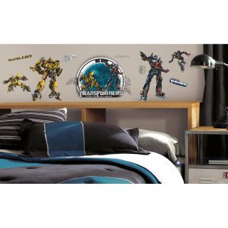 23 Transformers Optimus Prime Bumblebee Kids Deco Wall Decals Stickers Stick UPS